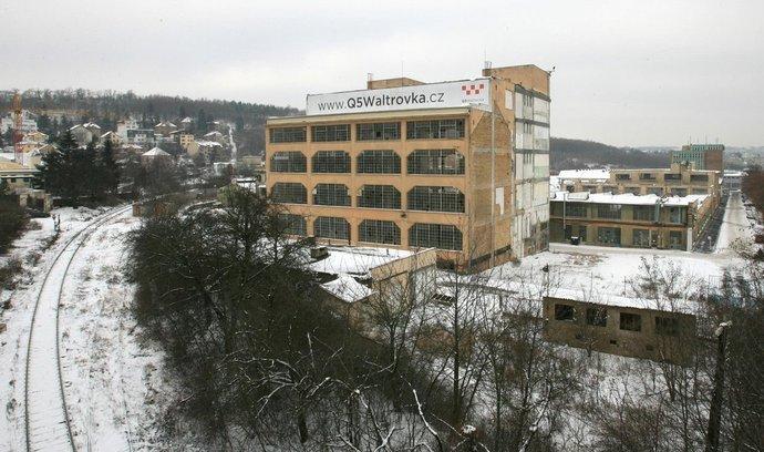 Areál bývalé továrny Walter Jinonice