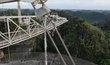 Radioteleskop Arecibo je ve špatném technickém stavu, hrozí jeho bezprostřední kolaps