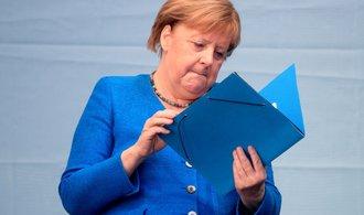 Nevydařená sázka na auru odcházející Merkelové