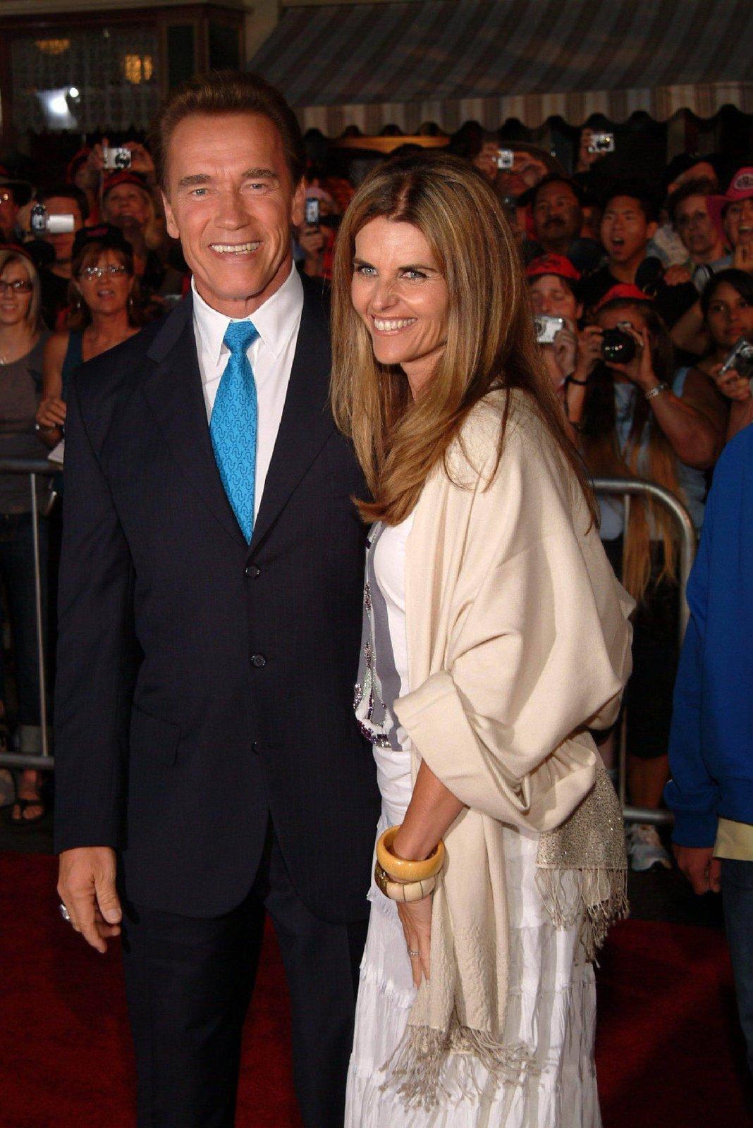 Arnold Schwarzenegger (64) & Maria Shriver (56)