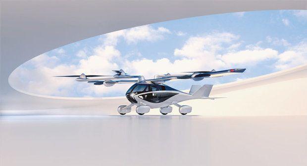 Aska létá a jezdí: Dokonalý hybrid auta a letadla