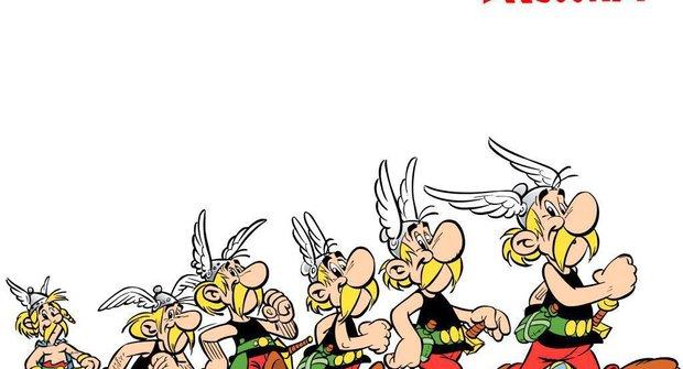Asterix oslavil 350 miliónů prodaných sešitů