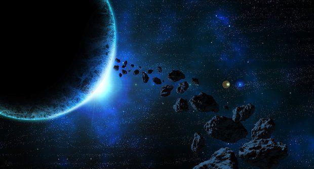 Kamenný vetřelec pronikl do sluneční soustavy