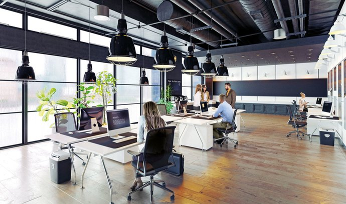 Firmy chtějí šetřit nejen na nájemném za kanceláře, ale i za prodejní plochy v obchodních centrech či za datová centra. (ilustrační foto)