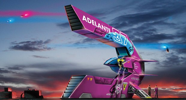 Astro Racers: Adelante