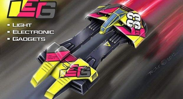 Astro Racer: LEG craft
