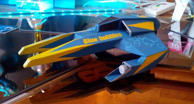 Vystřihovánky v ABC 19: Astro Racer a chata Dědek
