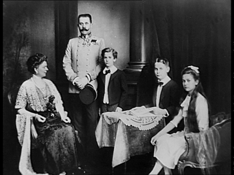 Arcivévodova rodina