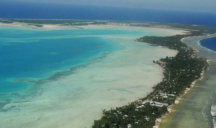 atol Tarawa, Kiribati