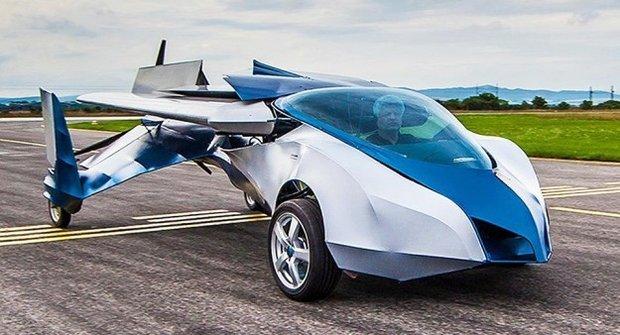 Létající auto se staví na Slovensku