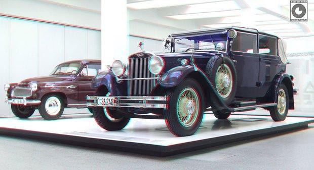 Galerie: 3D fotky z Muzea Škoda