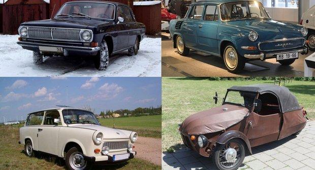 Návrat do automobilové minulosti