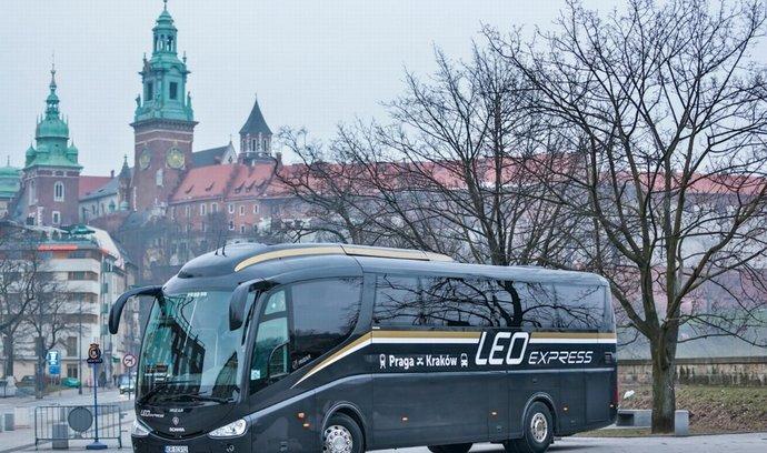 Autobus Leo Express (ilustrační foto)