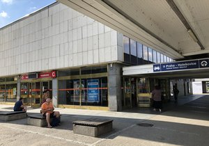 Today, the Holešovice Metro Station and its surroundings are an unpleasant place.  It should help reconstruction