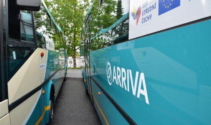 Autobusy firmy Arriva