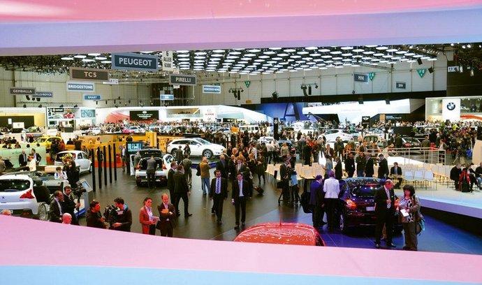 autosalon v Ženevě (archivní foto)