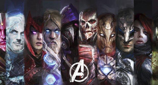 Galerie: Fantastičtí Avengers temní jako ve World of Warcraft