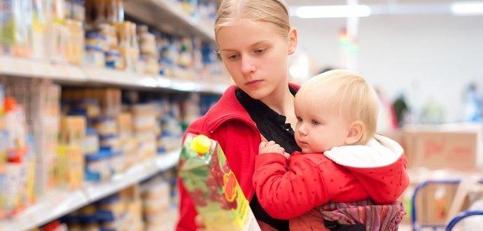 Ako zvládnuť nákupy s bábätkom