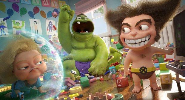 Chystá Pixar animované super hrdiny od Marvelu?