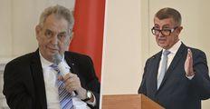 """Babiš navrhl kvůli Zemanovi posunout termín oslav 28. října. Prymula má pozvánku """"jen ústní"""""""