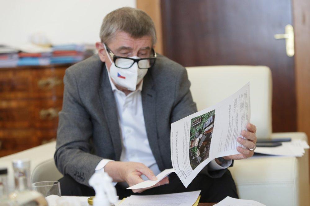 Premiér Andrej Babiš (ANO) v rozhovoru pro deník Blesk (28. 4. 2021)