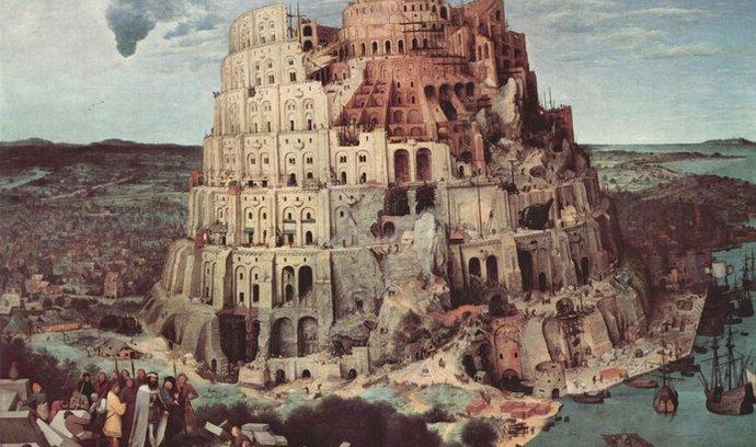 Podle Bible se stavbou Babylónské věže chtěli lidé vyvýšit nad Boha, který je ztrestal zmatením jazyků