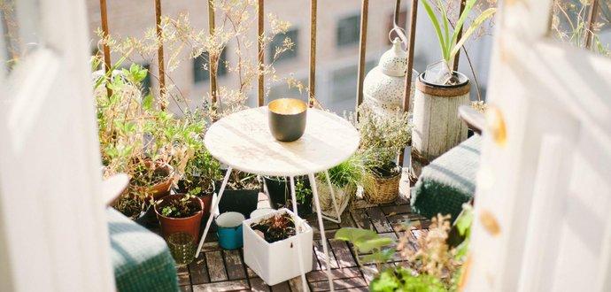 Vytvorte si na balkóne oázu pokoja