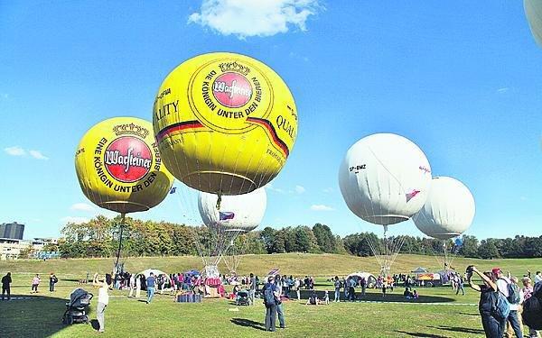 Balon si pronajali, existuje totiž jen asi 30.