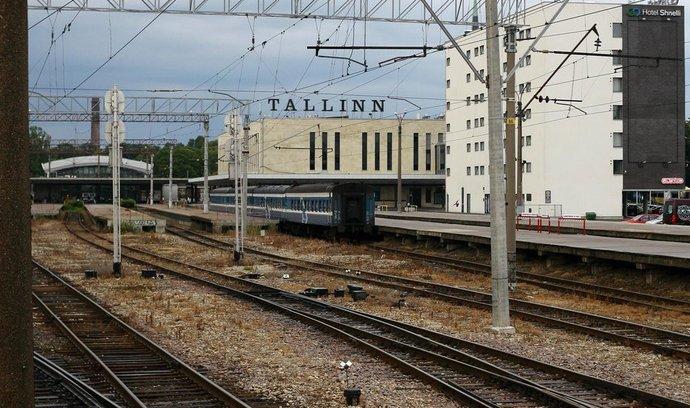 Balti jaam, hlavní vlakové nádraží v Tallinnu.