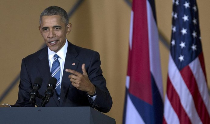 Barack Obama na Kubě