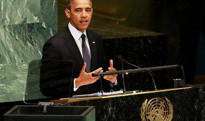 Barack Obama na zasedání Valného shromáždění OSN v New Yorku