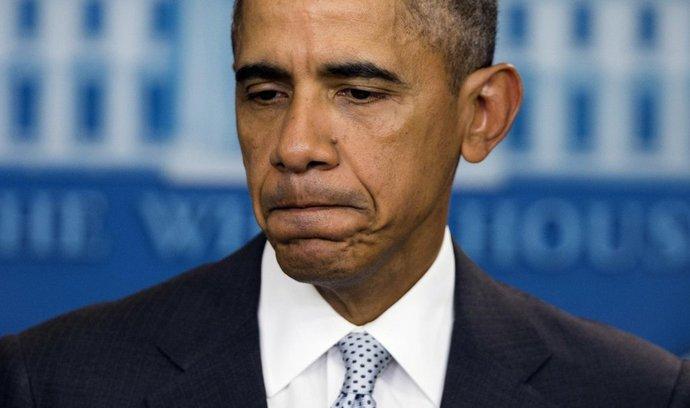 Barack Obama reaguje na zprávu o teroristických útocích v Paříži