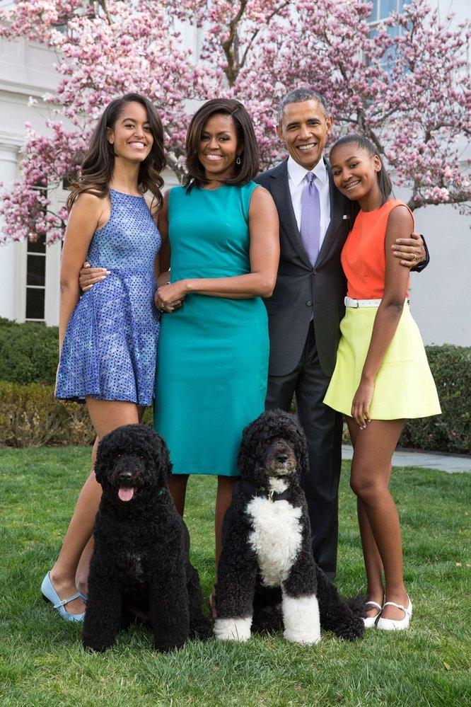 Barack Obama a jeho žena Michelle se snažili jít příkladem