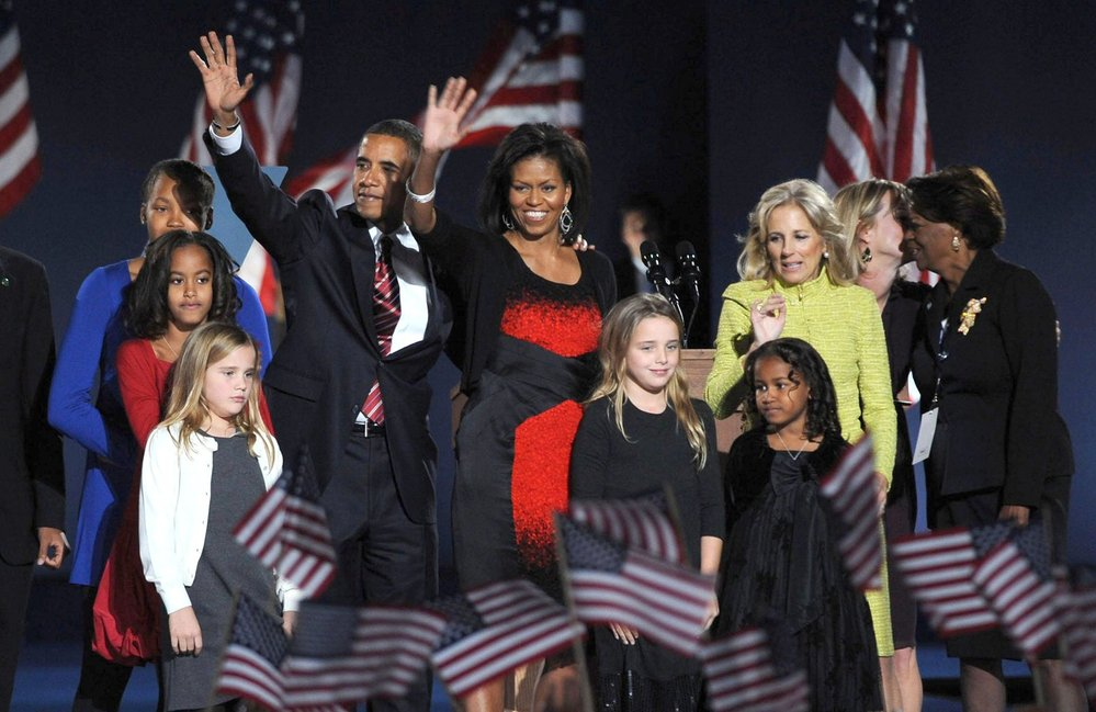 Rodina Baracka Obamy