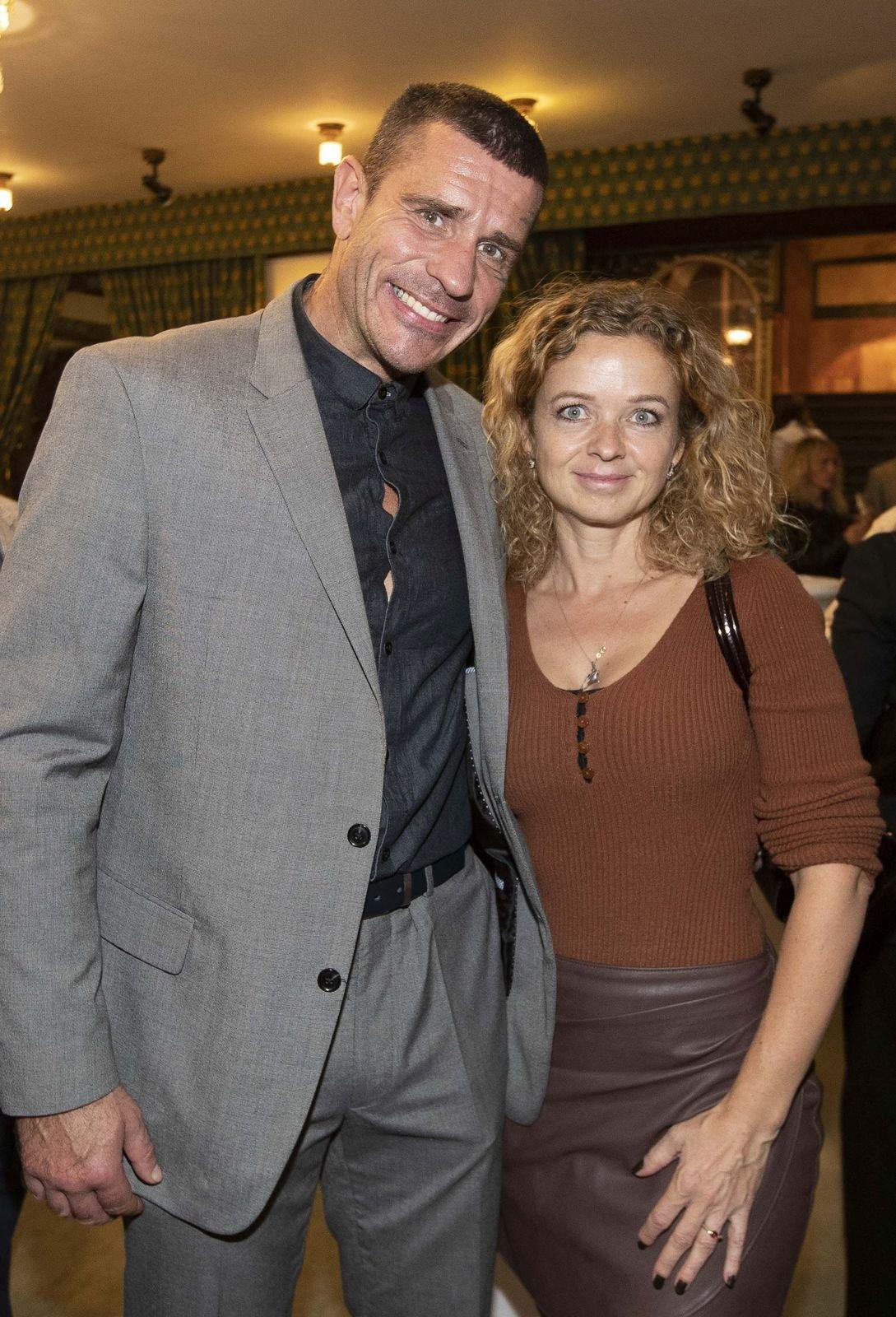Robert Rosenberg s manželkou