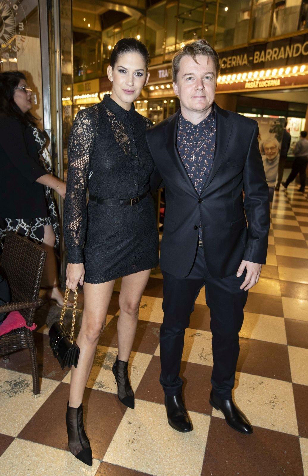 Petr Kolečko s Anetou Vignerovou