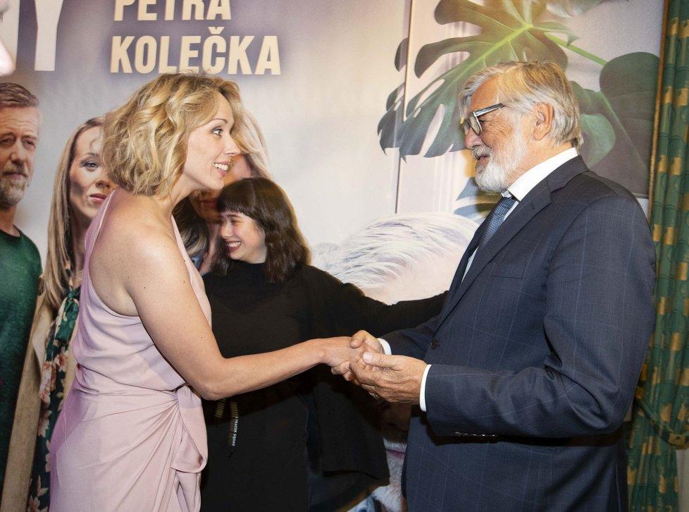 Petra Hřebíčková a Jiří Bartoška