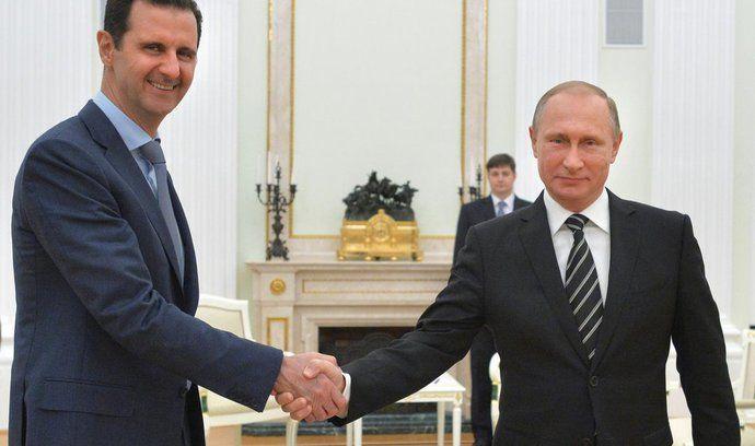 Bašár Asad, Vladimir Putin