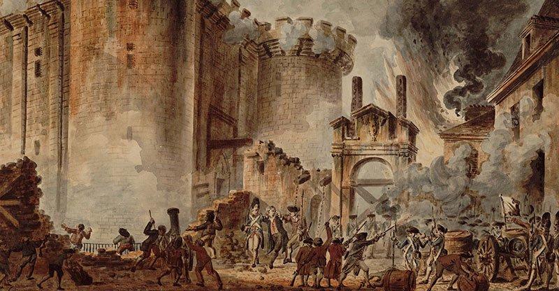 Páda Bastilly 1789