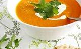 Batátová polévka s mrkví