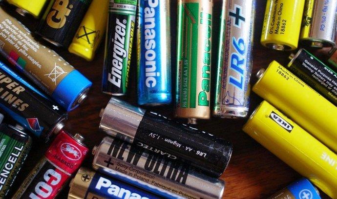 Baterie, ilustrační foto