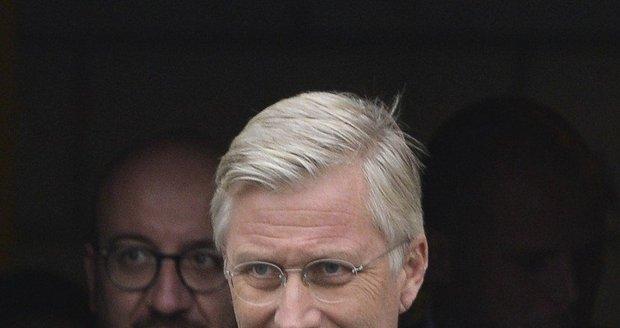 Belgický král Philipp
