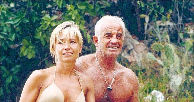 Natty Belmondo byla druhou a zároveń poslední manželkou Jeana - Paula