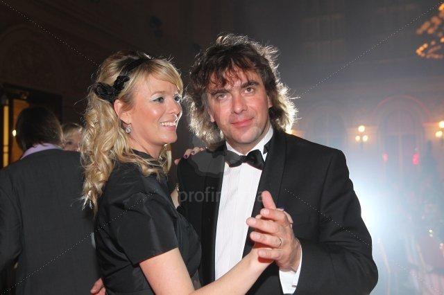 Lucie Benešová s manželem Tomášem Matonohou