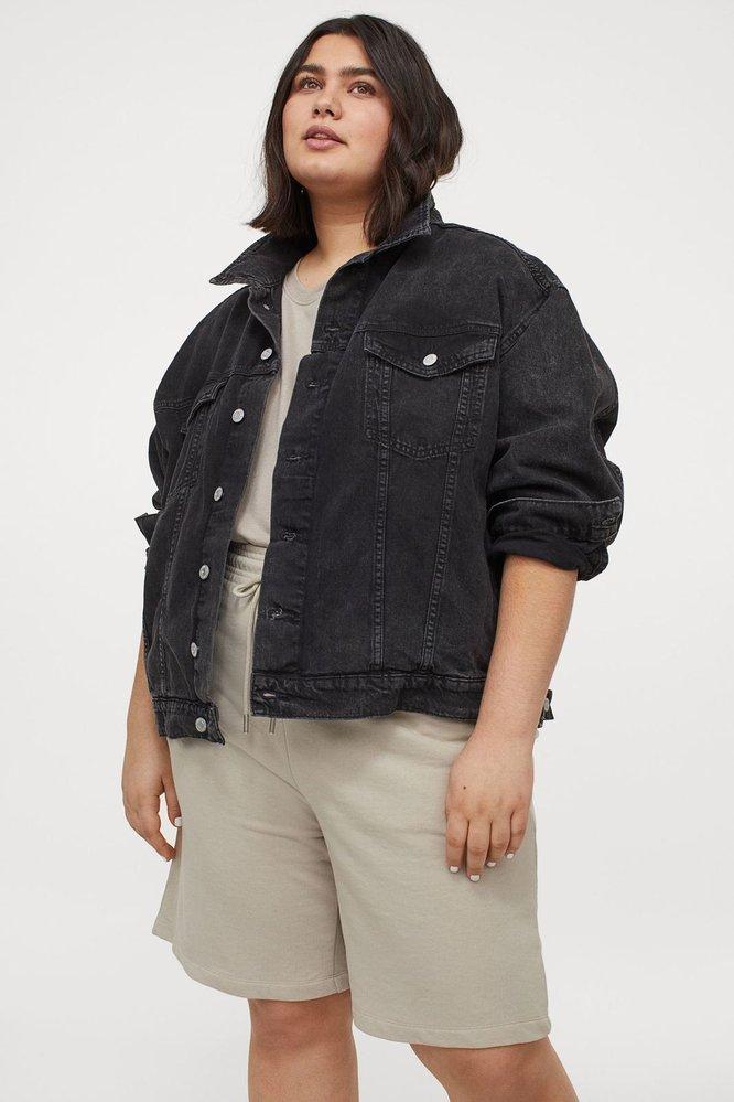 Teplákové šortky, H&M, 299 Kč