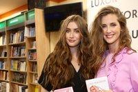 Jana Bernášková na křtu knihy s krásnou dcerou: Vypadají jako sestry!