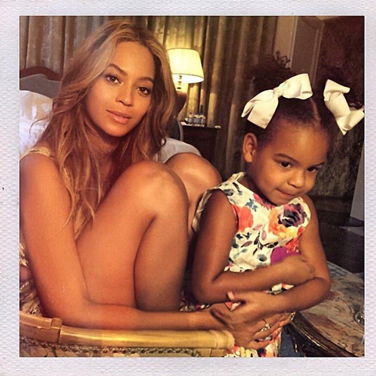 Beyoncé s dcerou.