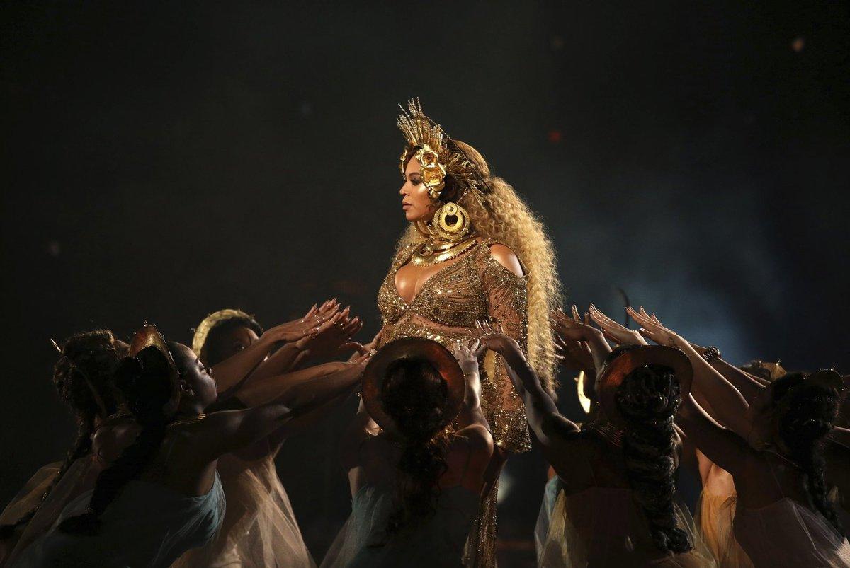 Beyonce a její vystoupení.