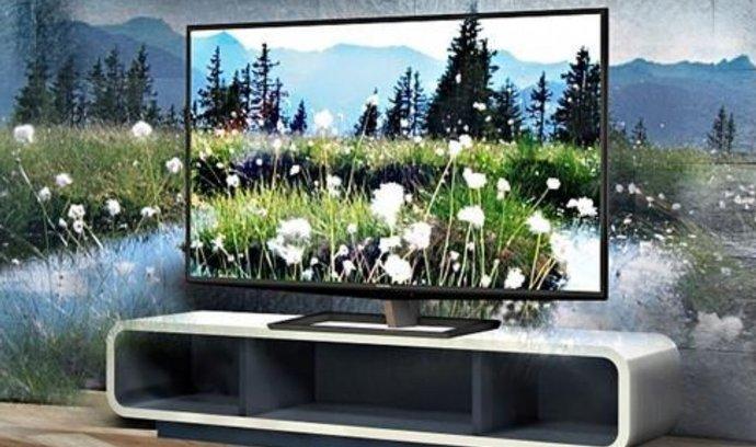 """""""Bezbrýlová"""" LCD TV Toshiba"""