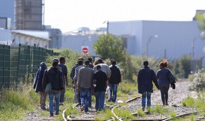 Běženci v Calais